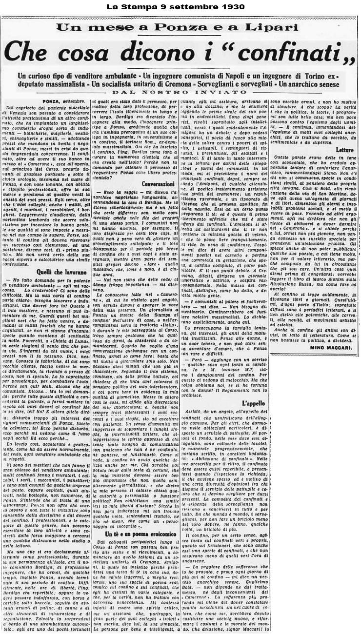 9 settembre 1930